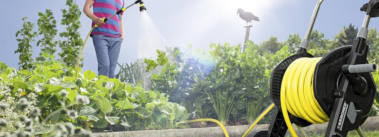 Погрижете се за градината си с поливната техника Керхер