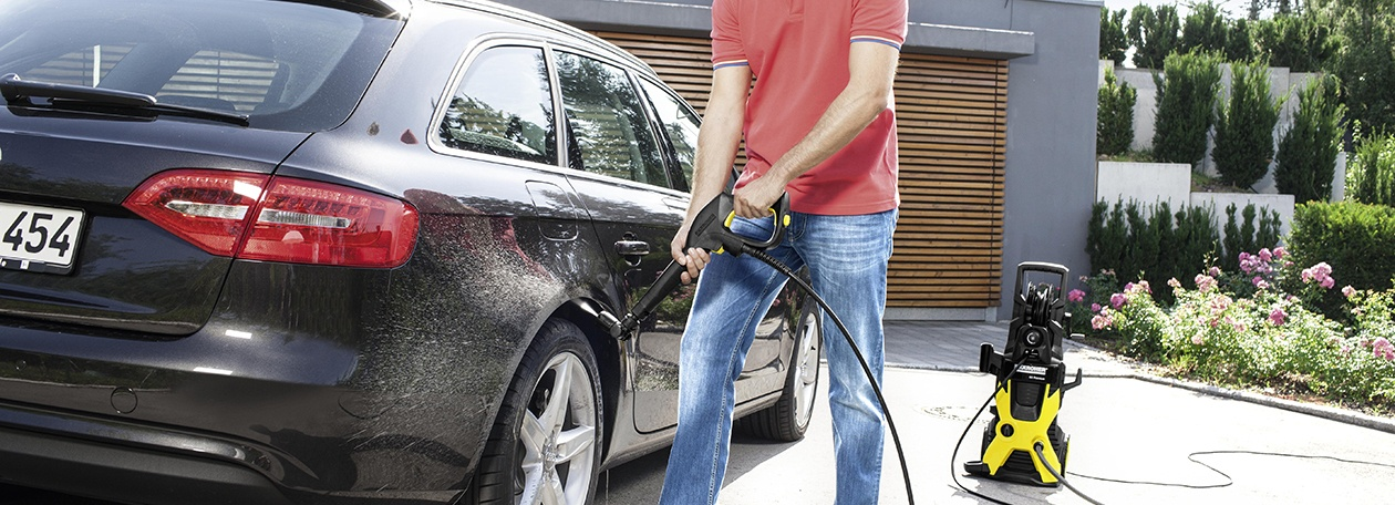 Керхер – гаранция за идеално чист автомобил
